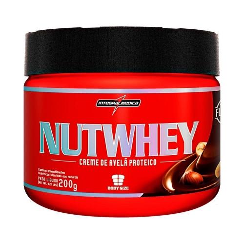 Nutwhey - Creme de Avelã Proteico (200g) - Integralmédica