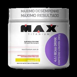 4:1:1 BCAA Drink - Max Titanium - Maracujá - 280g