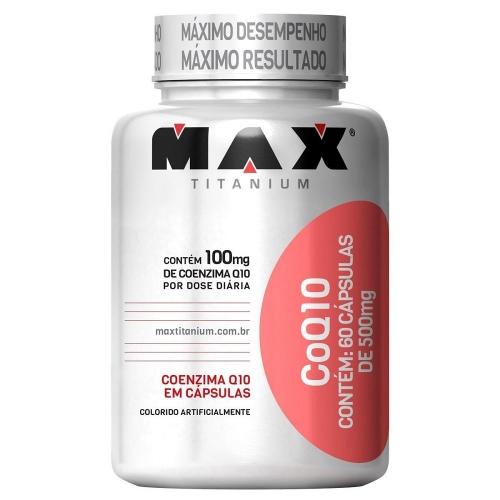 COQ 10 (60 Cápsulas) - Max Titanium
