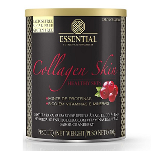 Colágeno Hidrolisado - Collagen Skin - Essential - Cranberry - 300g