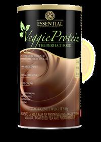Veggie Protein - Proteína 100% Vegetal - Chocolate - Essential - 540g