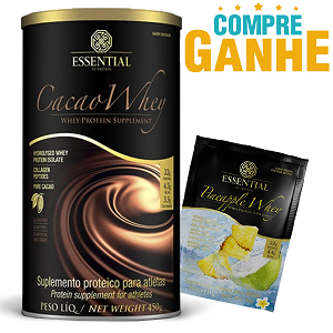 Cacao Whey - Whey Protein Hidrolisado - Essential - 450g
