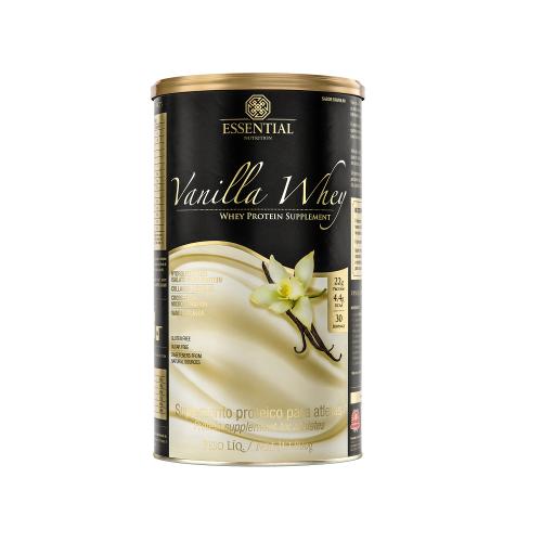 Vanilla Whey - Whey Protein Hidrolisado - Essential - 450g