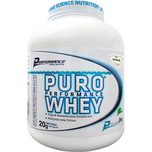 Puro Whey Sabor Baunilha (2kg) - Performance Nutrition