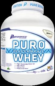 Puro Whey Performance Nutrition - Baunilha - 2Kg