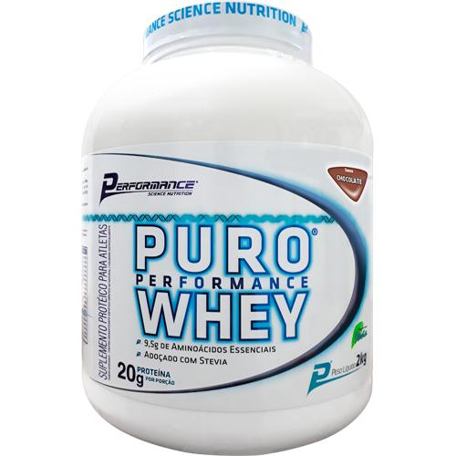 Puro Whey Sabor Chocolate (2kg) - Performance Nutrition