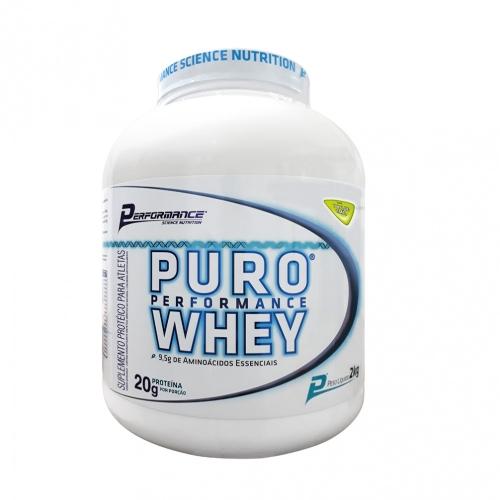 Puro Whey Performance Nutrition - Morango - 2Kg