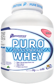 Puro Whey Performance Nutrition - Morango - 2Kg
