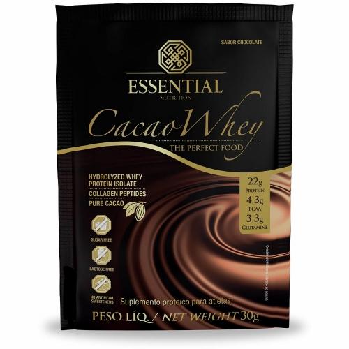 Cacao Whey - Whey Protein Hidrolisado (30g) (1 Sachê) - Essential