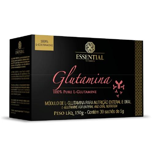 Glutamina (30 Sachês de 5g cada) - Essential