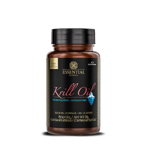 Óleo de Krill (Omega 3,6 e 9) - Essential - 60 Cápsulas