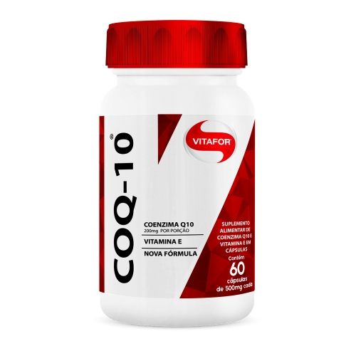 Coq10 Coenzima Q10 (60 Cápsulas) - Vitafor