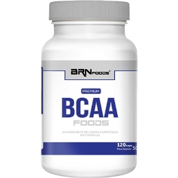 BCAA Foods Premium - BR Foods - 120 Cápsulas