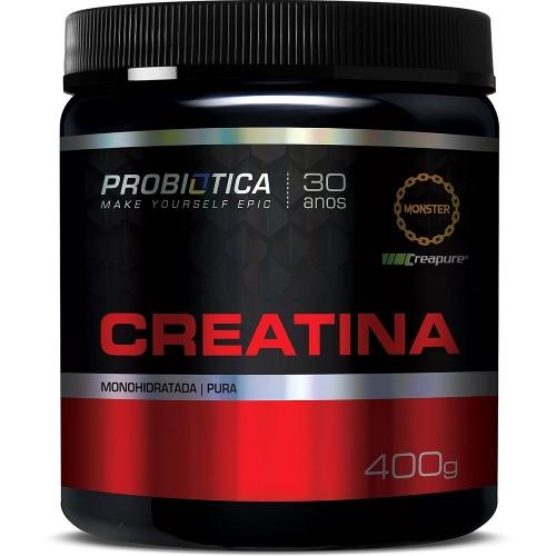 Creatina Creapure - Probiótica - 400g