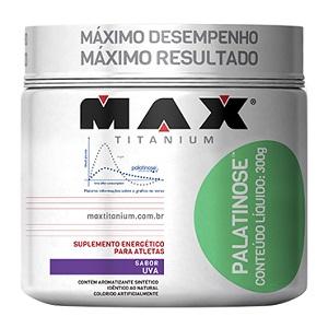 Palatinose - Max Titanium - Uva - 300g