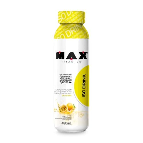 Whey Drink - Max Titanium - 480ml - Maracujá