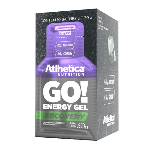 Go Energy Gel - Atlhetica - Morango - 30g