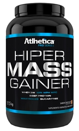 Hiper Mass Gainer Pro Series Sabor Chocolate (1,5kg) - Atlhetica Nutrition - Unissex