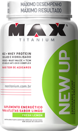 New Up - Max Titanium - Limão - 600g