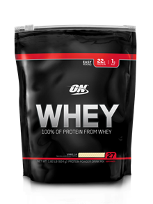 Whey Optimum Nutrition - Baunilha - 824g