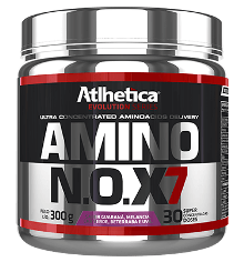 Amino NOX7 Guaraná, Melancia, Chá Verde, Beterraba e Uva (300g) - Atlhetica Nutrition