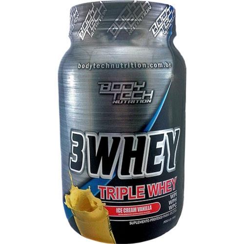 3 Whey - Body Tech - Baunilha - 900g