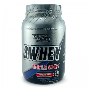 3 Whey - Body Tech - Baunilha - 900g