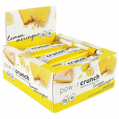 Power Crunch Original Bio Nutricional - Baunilha - 12 unidades 40g