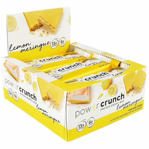 Power Crunch Original Bio Nutricional - Triple Chocolate - 12 unidades 40g