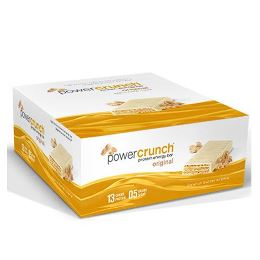 Power Crunch Original Bio Nutricional - Amendoim Creme - 12 unidades 40g