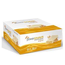 Power Crunch Original Bio Nutricional - Amendoim Creme - 12 unidades 40g