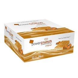 Power Crunch Original Bio Nutricional - Caramelo - 12 unidades 40g