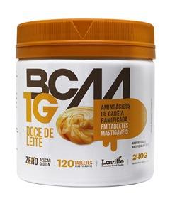 BCAA 1g - Lavitte - Doce de Leite - 120 Tabletes