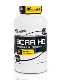 BCAA HD - Ion Labs - 120Tabletes
