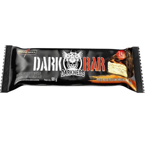 Whey Bar Darkness Sabor Chocolate c/ castanhas  (1 unidade de 90g) - Integralmédica