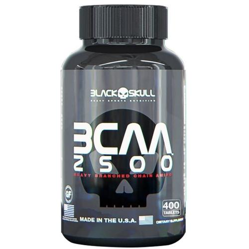 BCAA 2500 (400 Tabletes) - Black Skull