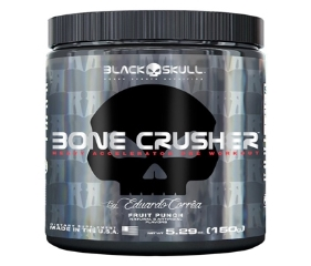 Bone Crusher - Black Skull - Fruit Punch - 150g