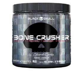 Bone Crusher - Black Skull - Limão - 150g