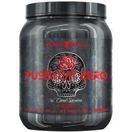 Pussycat Zero - Black Skull - Morango - 600g