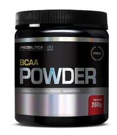 BCAA Powder - Probiótica - Morango - 200g