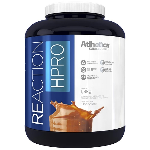 Reaction HPRO - Sabor Morango (1,8kg) - Atlhetica Clinical