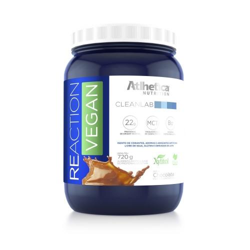 Reaction Vegan Sabor Chocolate (720g) - Atlhetica Clinical