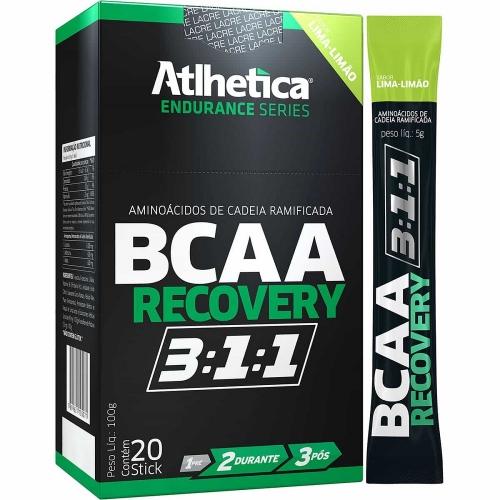 BCAA Recovery 3:1:1 - Limão - Atlhetica Nutrition - 20 Sticks