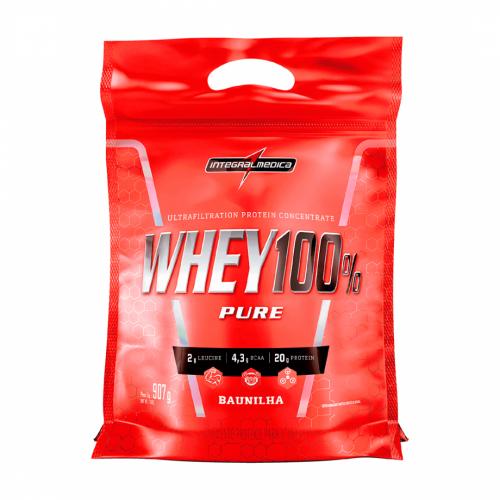 Whey 100% Pure Sabor Baunilha (907g) Refil - Integralmédica