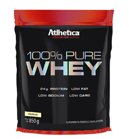 100% Pure Whey Refil - Atlhetica Evolution - Cookies - 850g