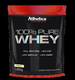 100% Pure Whey Refil - Atlhetica Evolution - Baunilha - 850g