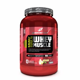 100% Whey Muscle - Baunilha - Body Action - 900g