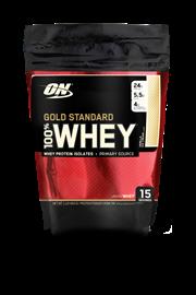100% Whey Protein Gold Standard Optimum Nutrition - Baunilha - 454g