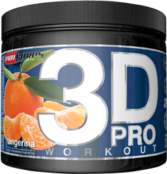3D Pro Workout - Procorps - 200g - Tangerina