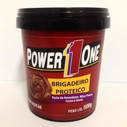 Pasta de Amendoim - Power One - Brigadeiro - 500g